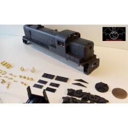 Kit Locomotiva Alco 1520 CP com corrimãos