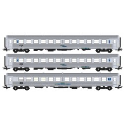 Set of 3 SOREFAME coaches S0819