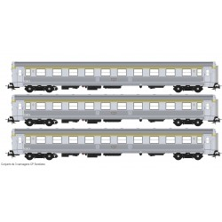 Set of 3 SOREFAME coaches S0119