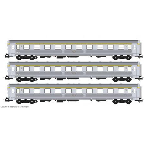 Set of 3 SOREFAME coaches S0119