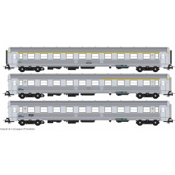 Set of 3 SOREFAME coaches S0319