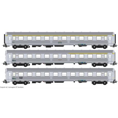 Set of 3 SOREFAME coaches S0319