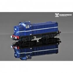 Locomotiva Diesel EE 1400 azul - Sem numeração