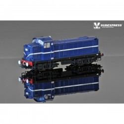 Locomotive Diesel EE 1400 blue - no road number