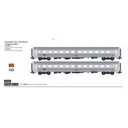Set of 2 SOREFAME coaches S0719